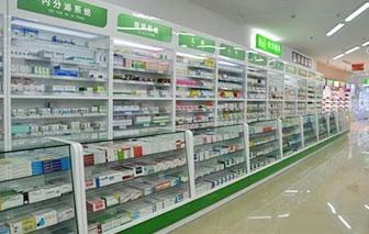 药品展柜案例