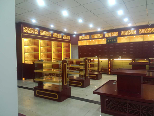 重庆药品展柜制作