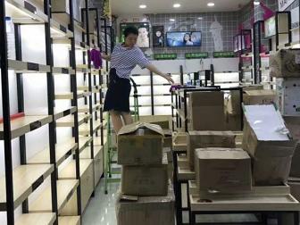 南京化妆品展柜
